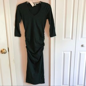 NWT Anthropologie Michael Stars Long black dress
